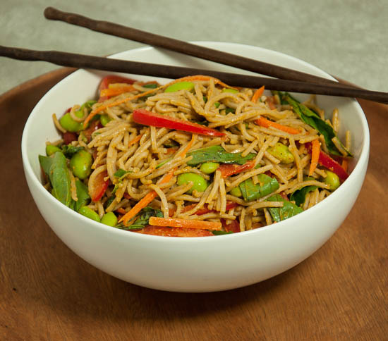 Soba Noodles with Peanut Sauce-44