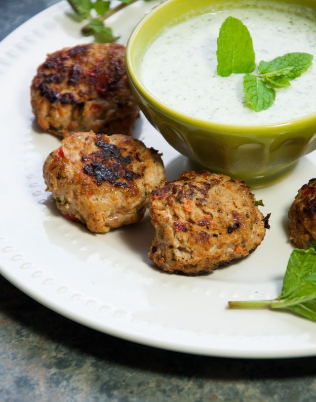 These delicious turkey meatballs make a tasty appetizer that can even be used as a main course for a quick weeknight meal.