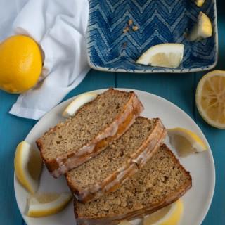 Whole Wheat Lemon Poppy Seed Bread