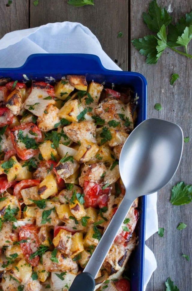 Chicken Potato Casserole Feasting Not Fasting