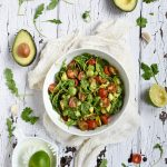 Cilantro lime salad picture